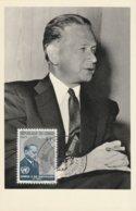 Carte Maximum - Hommage à Dag Hammarskjold - Secrétaire Général Des Nations Unies - Congo - Brazzaville