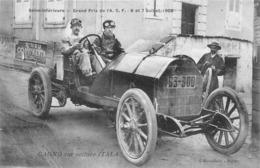 SEINE-INFERIEURE- GRAND PRIX- DE L'A.C.F -1908, CAGNO SUR VOITURE ITALA - Rally Racing