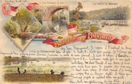 CPA PORTUGAL SOUVENIR DE BUSSACO  1902 - Portugal