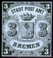 Bremen. Michel #1Y. Unused. (*) - Bremen