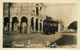 ANTILLES  HAITI   Street Scenes  TRAMWAY - Haití