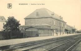 Belgique - Waremme - Intérieure De La Gare - Waremme
