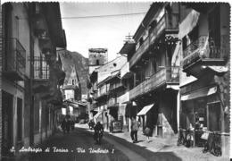 Cartolina Di S. Ambrogio Di Torino Via Umberto I - Italia