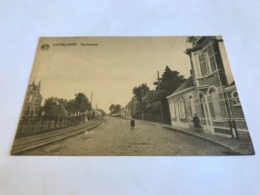 Belgium Belgique Saffelaere Zaffelare Lochristi Rechtstraat Tram Way 11010 Post Card Postkarte POSTCARD - Lochristi