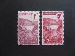 TB Paire De Timbres Colis Postaux N° 216A Et N° 217A, Neufs X. - Neufs