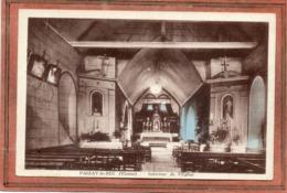 CPA - PAIZAY-le-SEC (86) - Aspect De L'intérieur De L'Eglise En 1950 - Sonstige Gemeinden