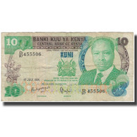 Billet, Kenya, 10 Shillings, 1984-07-01, KM:20c, TB - Kenia