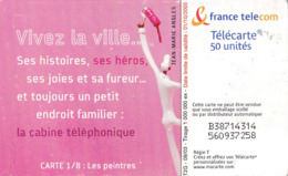 France Télécarte De 50 Unités  Vivez La Ville   Gem2    09/2003 Tirage 1K - Frankrijk