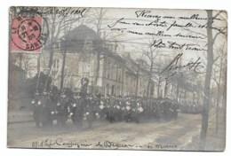 Le Mans  Carte Photo: 1905: Compagnie De Dragons  Adressé à Colombes - Le Mans