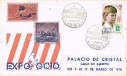 33842. Carta Exposicion MADRID 1978. EXPO OCIO, Tortuga, Turtles - 1931-Hoy: 2ª República - ... Juan Carlos I
