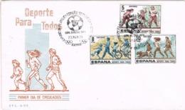 33843. Carta Exposicion MADRID 1979. FUTBOL, Mundial FIFA 82, Deporte Para Trodos - 1931-Hoy: 2ª República - ... Juan Carlos I