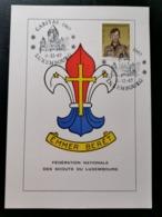 Luxembourg, Fédération Des Scouts Du Luxembourg - Maximum Cards