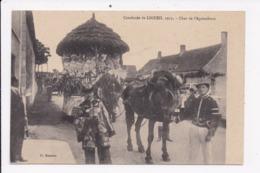 CP 37 Cavalcade De LIGUEIL 1913 Char De L'Agriculture - Francia