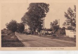 CPA : VIgnoux Sur Barangeon (18) Route Nationale Et L'Oasis      Ed Fougère Pellé N° 201    Voyagé 1941 - France
