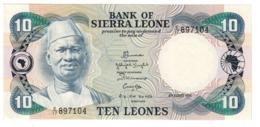 Sierra Leone 10 Leones 04/08/1984 UNC - Sierra Leone