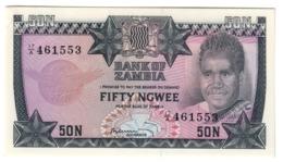 Zambia 50 Ngwee 1973 UNC - Zambia