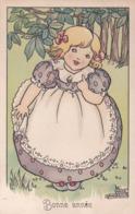 Bambina Bionda Con Il Vestito Viola  -  Ill.  Anne Anderson - Scene & Paesaggi
