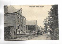 80 - FRIAUCOURT ( Somme ) - Rue D' Ault. Attelages - France