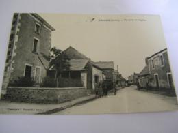 C.P.A.- Chevillé (72) - Vue Prise De L'Eglise - Café De France - Maison Tourteau - 1910 - SUP (CQ 14) - Sonstige Gemeinden