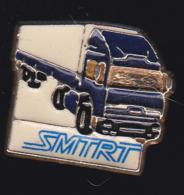 59757-pins.Société Marseillaise De Transports Routiers .camion - Transports