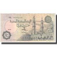 Billet, Égypte, 50 Piastres, KM:58b, TTB+ - Egypte