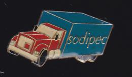 59768-pins..Sodipec à Drap Produits D'entretien .Transports Routiers .camion.Truck - Transports