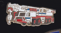 59769-pins..VITAL Est Une Société De Levage .Transports Routiers .camion.Truck - Transports