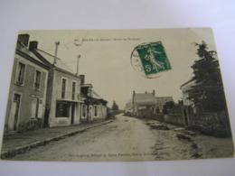 C.P.A.- Chevillé (72) - Route De St Saint Ouen - 1911 - SUP (CQ 15) - Sonstige Gemeinden