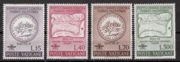 Vaticano 1962 Uf. 326/329 Lotta Alla Malaria Full Set MNH - Malattie