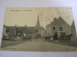 C.P.A.- Chevillé (72) - Rue Principale - 1909 - SUP (CQ 16) - Sonstige Gemeinden