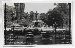 AK 0317  Graz - Stadtparkbrunnen Mit Cafe / Verlag Gratl Um 1934 - Graz