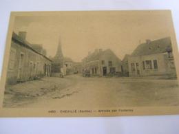 C.P.A.- Chevillé (72) - Arrivée Par Fontenay - 1920 - SUP (CQ 17) - Sonstige Gemeinden