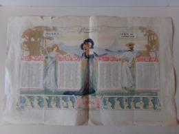 """Calendrier """" Femina """" 1904 ( Dans L'état ) - Grand Format : 1901-20"""