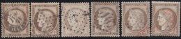France  .   Yvert   .    56    6x  .     O       .  Oblitéré - 1871-1875 Ceres