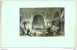 ALGERIE-ALGER-INTERIEUR D'une MAISON-1153-1853 - Prints & Engravings