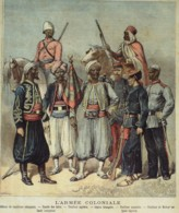 ALGERIE-SPAHIS Et TIRAILLEURS-1891-4125 - Stiche & Gravuren