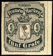 Bremen. Michel #I. Unissued Stamp. - Bremen