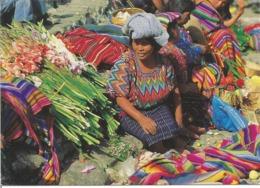"CPM Du GUATEMALA "" Marché De CHICHICASTENANGO "" - Guatemala"