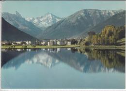 7270 DAVOS - Dorf;  Blick Gegen Tinzenhorn Mit Davosersee,   Nice Stamp Esperanto - GR Graubünden