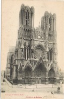33852. Postal REIMS (Marne) . Cathedrale De Reims - Reims