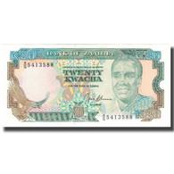 Billet, Zambie, 20 Kwacha, KM:32b, NEUF - Zambia