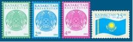 Kazakhstan 2004. Definitive Issue. Arms. Flag. Mi.#452-454, 464  MNH - Kasachstan