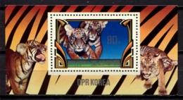 Korea North 1982 Corea / Big Cats Tigers MNH Felines Felinos Tigres / C10930  36-17 - Felini