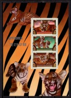 Korea North 1982 Corea / Big Cats Tigers MNH Felines Felinos Tigres / C10929  36-17 - Felini