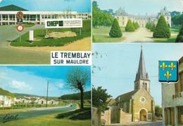 78 Le Tremblay Sur Mauldre Divers Aspects (2 Scans) - Francia