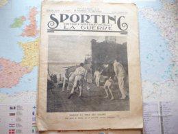 Sporting Editions Spéciales Pendant La Guerre N°12 Jeudi 7 Janvier 1915 - Livres, BD, Revues