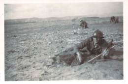 Photo Militaria - Militaires Du 19e Régiment Génie Français, Déminage, Algérie Ca 1935 - War, Military