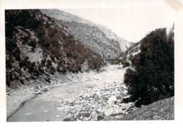 Photo Militaria - Militaires Du 19e Régiment Génie Français, Kabylie Sortie Gorges De Palestro, Algérie Ca 1935 - War, Military