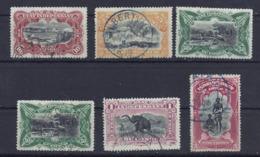 Belgisch-Kongo 15/19 Gest. - Stamps