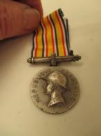 Medaille  De Pompier Avec Ruban - France